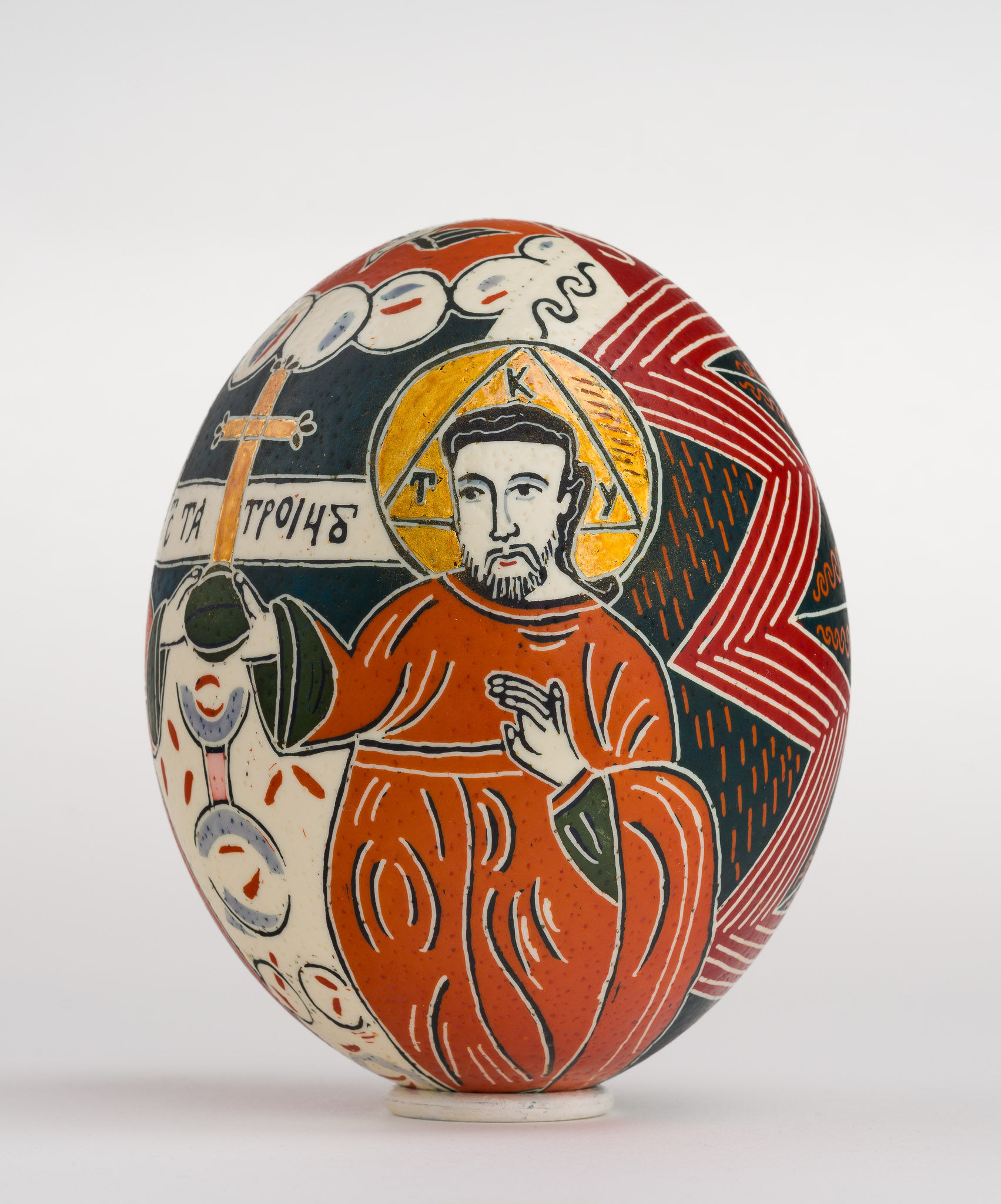 Icoană încondeiată pe ou de struț - Sfânta Treime nou-testamentară - maryando-104a.jpg